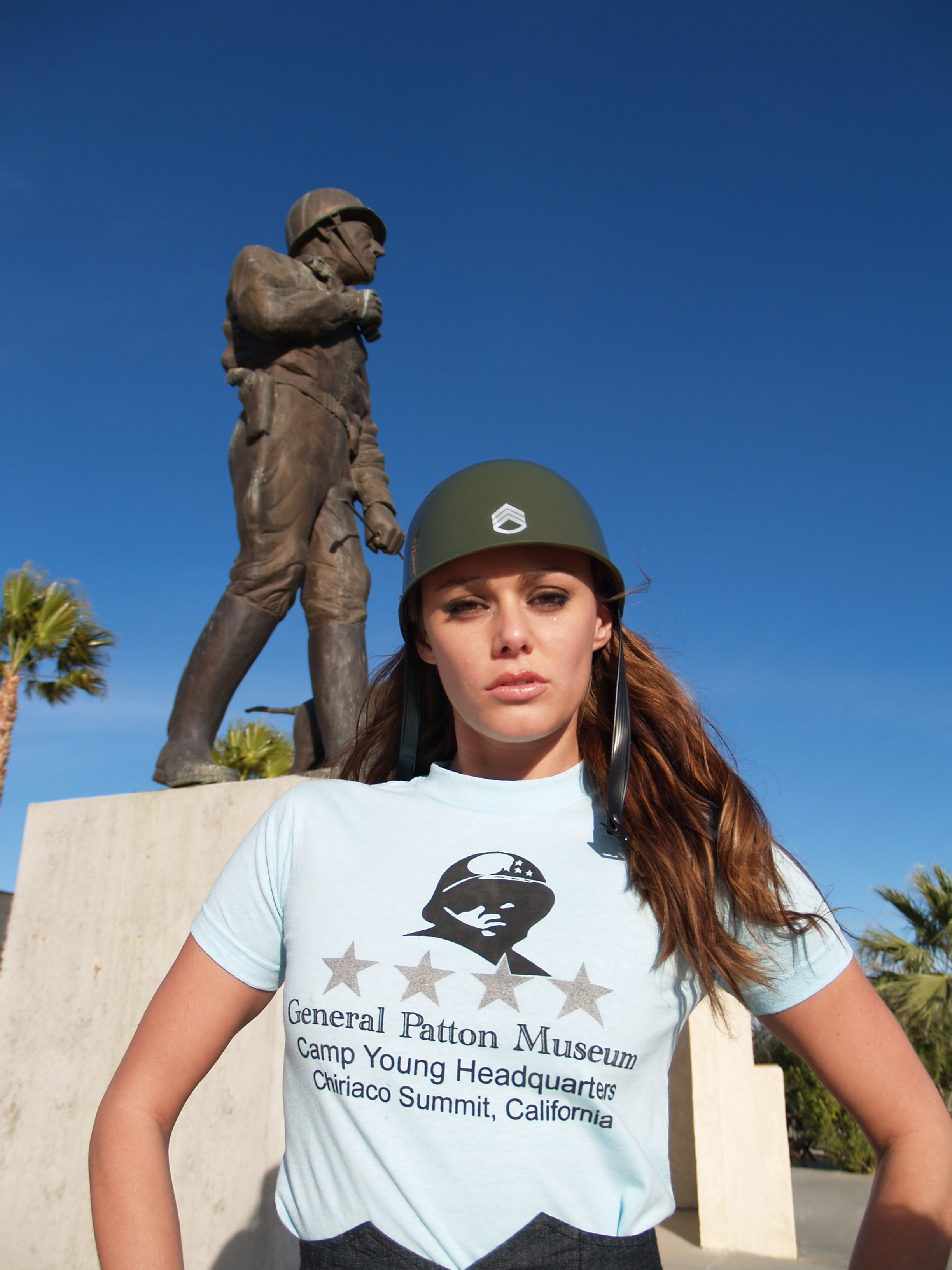 VETERANS DAY, NOV. 7TH, GENERAL PATTON MUSEUM, CHIRIACO SUMMIT, CA