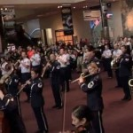 usaf-band-flash-mob