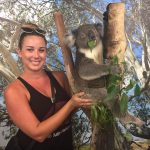 model-carisa-with-koala