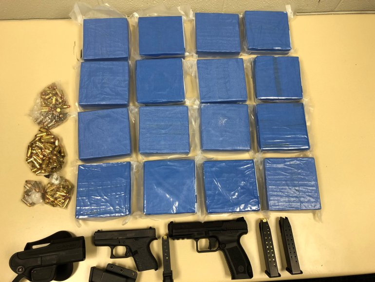 5 suspects, seized more than $1 million worth of heroin