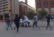 Police Video Shows Whites Being Targeted During Memorial Day Chaos In Baltimore!