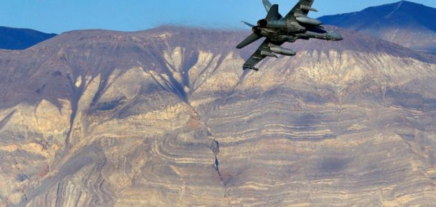 Navy Super Hornet jet crashes near Death Valley, search and rescue underway for pilot!