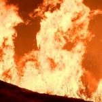 WildFire burns170 acres in East Redlands, CA!