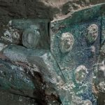 Ancient ceremonial carriage uncovered in Pompei